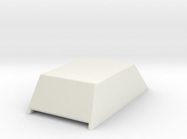 Hood Scoop V1 1/24 in White Strong & Flexible