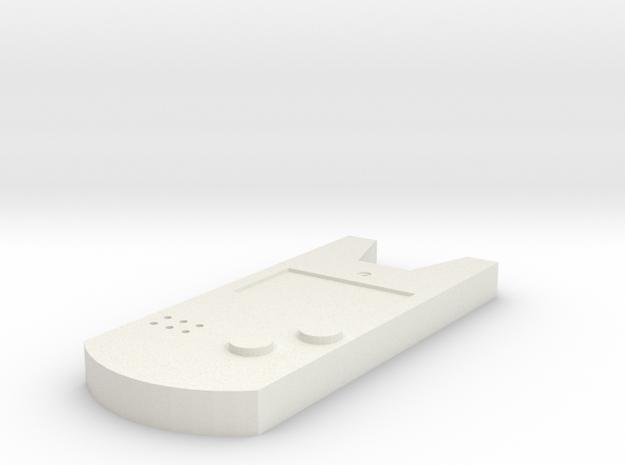 Holo Caster Replica in White Strong & Flexible