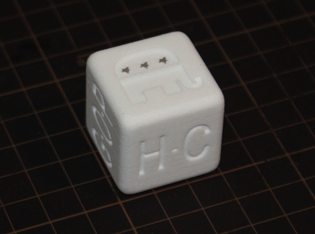 Super Dice for Tuesday : S in White Strong & Flexible