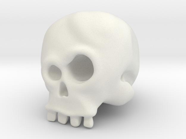 Skull Bob 3d printed