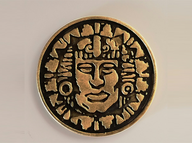 Legends of the Hidden Temple - Pendant of Life in White Strong & Flexible