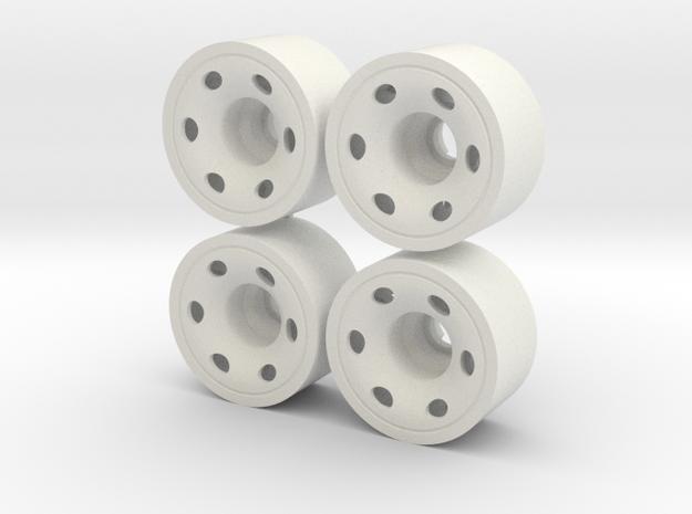 MINI Z-REAR 208 +025 in White Natural Versatile Plastic