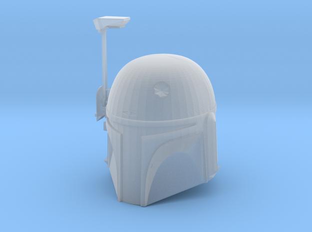 Boba Fett ESB Helmet 1/6,5th Scale With Visor in Smooth Fine Detail Plastic