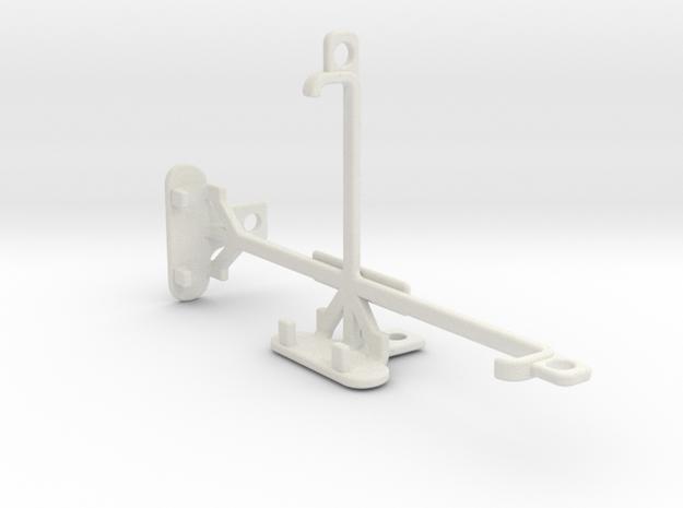 Maxwest Nitro 5 tripod & stabilizer mount in White Natural Versatile Plastic