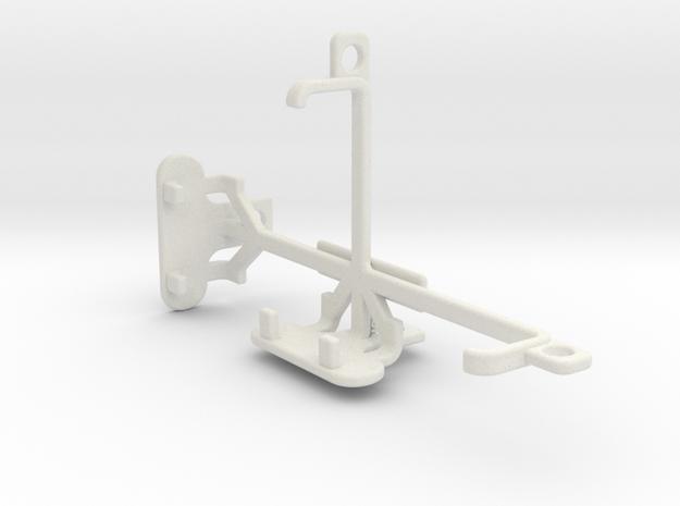 Samsung Galaxy Folder tripod & stabilizer mount in White Natural Versatile Plastic