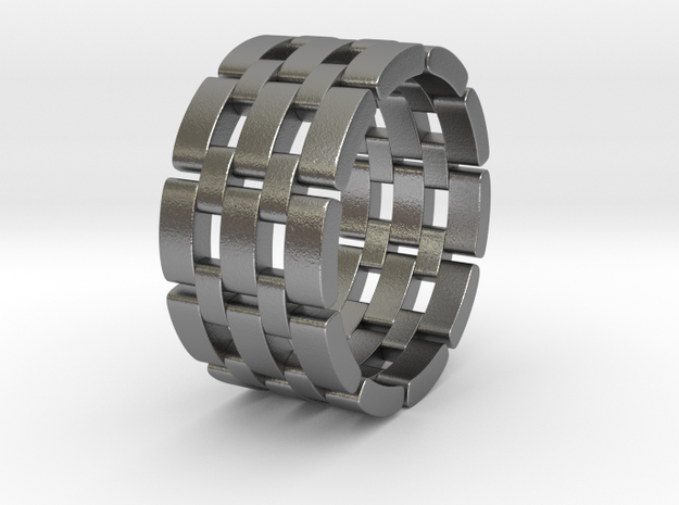 Wataru - Ring in Natural Silver: 9.5 / 60.25