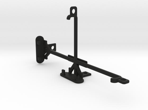Sony Xperia XA Ultra tripod & stabilizer mount in Black Natural Versatile Plastic