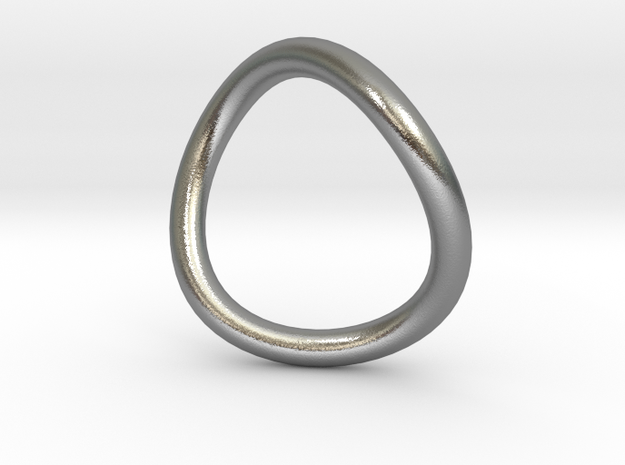 BFF collection - ring, size 6 in Raw Silver