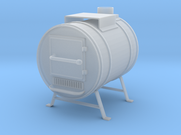 Shop Heater Stove in Smooth Fine Detail Plastic: 1:24