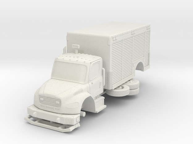 1/87 FDNY seagrave Mask Service Unit in White Natural Versatile Plastic