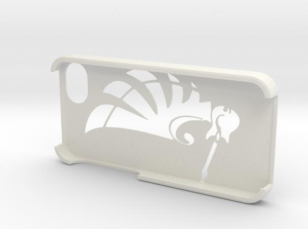 Musical IPhone Case in White Natural Versatile Plastic