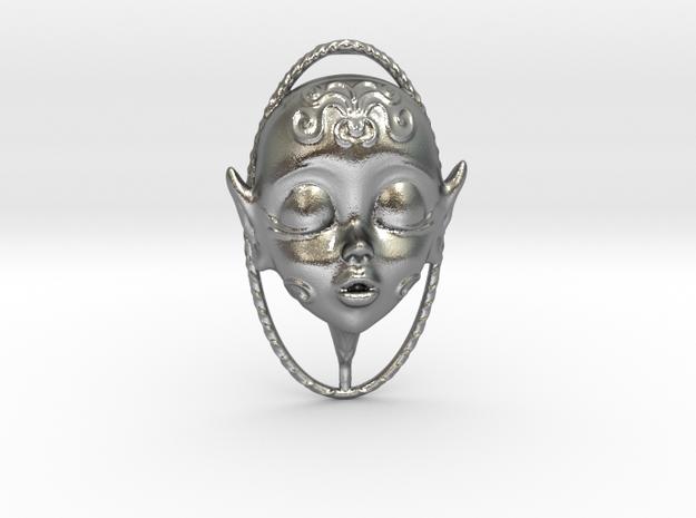 Skydoll Fae Parfume Pendant in Raw Silver