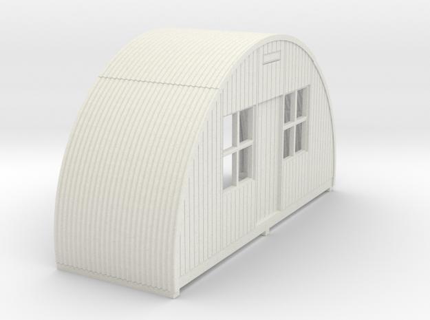 N-76-front-end-nissen-hut-16-36-1a in White Natural Versatile Plastic
