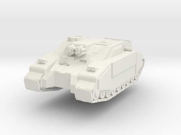 Super STUG in White Natural Versatile Plastic