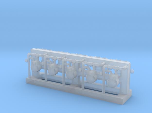 Gas Meter (Qty 10) 'N' 160:1 Scale