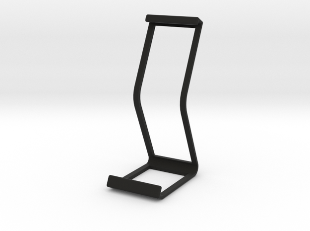 Ipad Stand V2 material saver in Black Natural Versatile Plastic