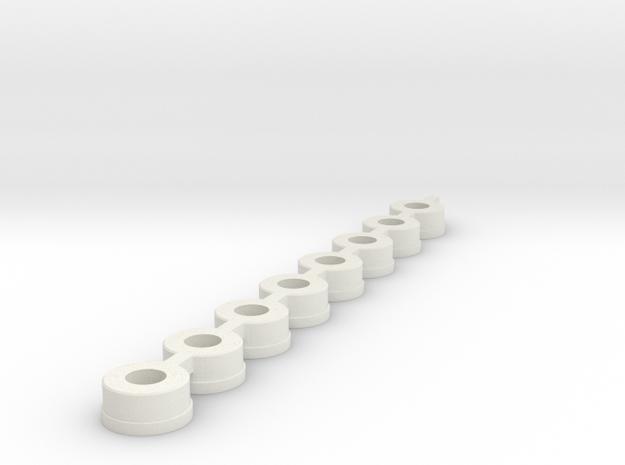 bearing_dummys_2.2 in White Natural Versatile Plastic