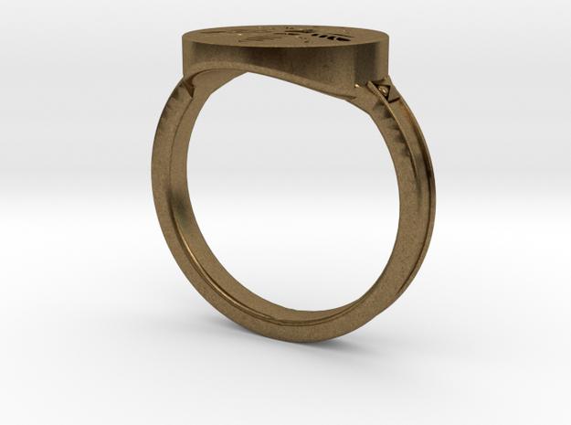 Dark Souls inspired Hornet Ring in Natural Bronze: 9.5 / 60.25