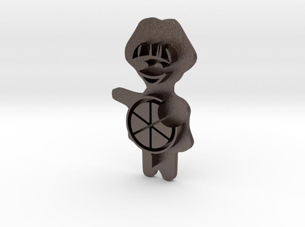Keksstempel Winnie Figur 2 (30mm Breite) Small in Stainless Steel: Small