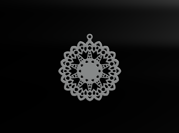 Design for earring - SK0026B 3d printed Preview