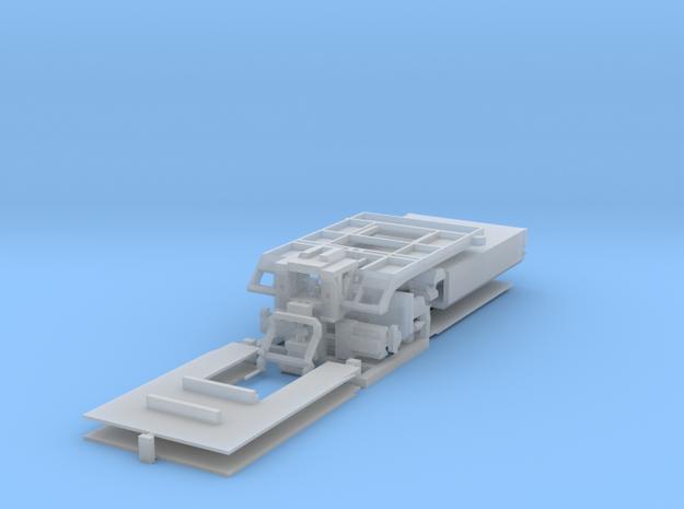 HO/1:87 Truck Mounted Attenuator model kit 3d printed