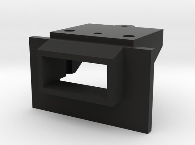 Atlas O Scale EMD GP60 Coupler Mount in Black Natural Versatile Plastic