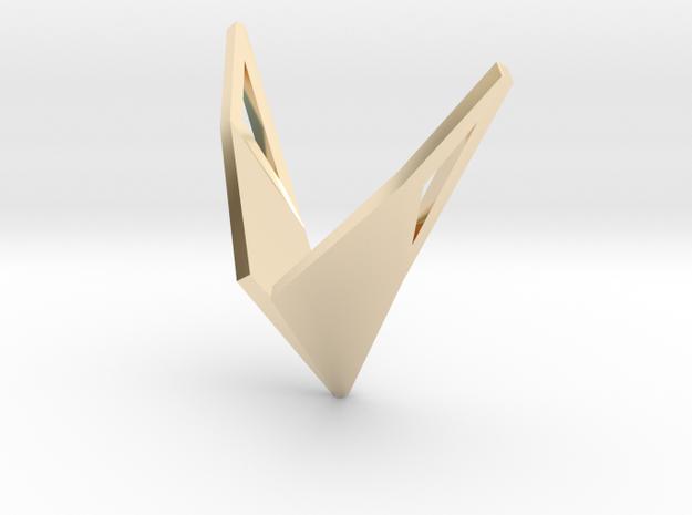 sWINGS Origami, Pendant. Sharp Elegance