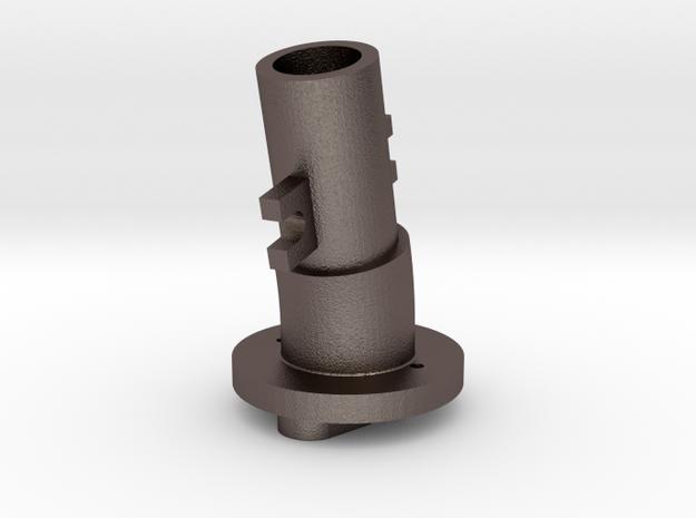 Thrustmaster joystick tailpiece, 13 deg. angle-M in Stainless Steel