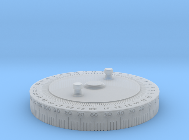 SAS Suncompass-68.85mm in Smooth Fine Detail Plastic
