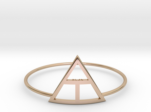 Creation in 14k Rose Gold Plated