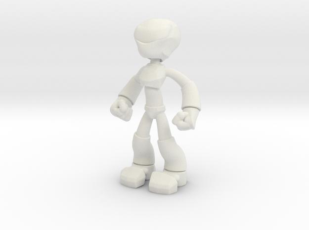 RvS Bot in White Natural Versatile Plastic: Small