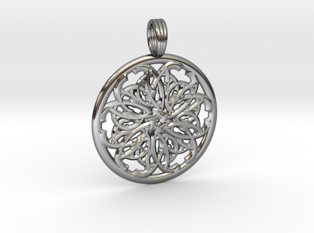 FABRIC KEY in Premium Silver
