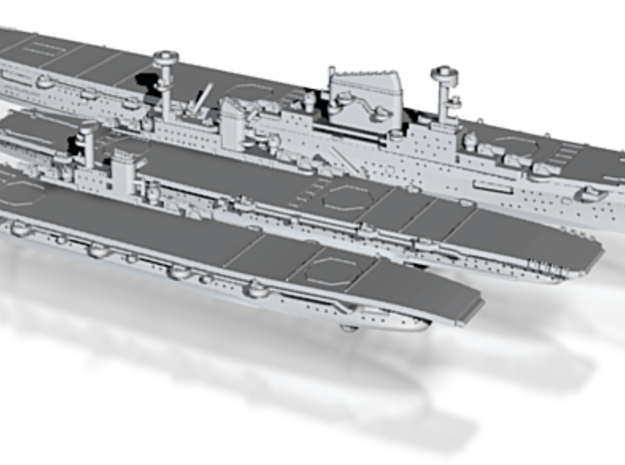 1/2400 KM WWII Carrier Projects 3d printed