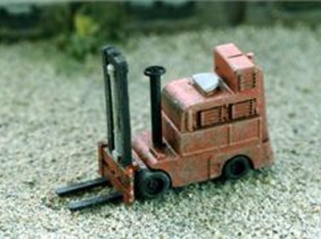HO FORKTRUCK Industry 1/87 scale  in Frosted Ultra Detail