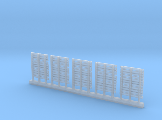 WOODEN PALLETS HO Scale 5 pack