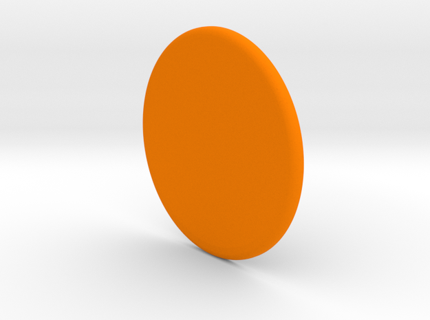 Spinner Cap in Orange Strong & Flexible Polished
