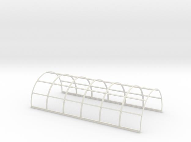 N-87-nissen-hut-frame-16-36 in White Natural Versatile Plastic