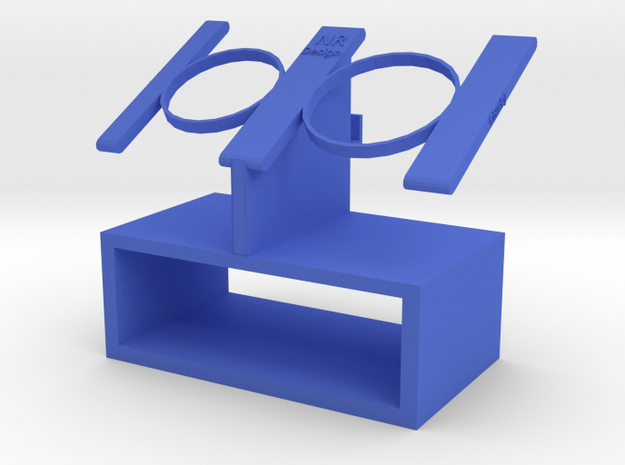 Watch Stand in Blue Processed Versatile Plastic
