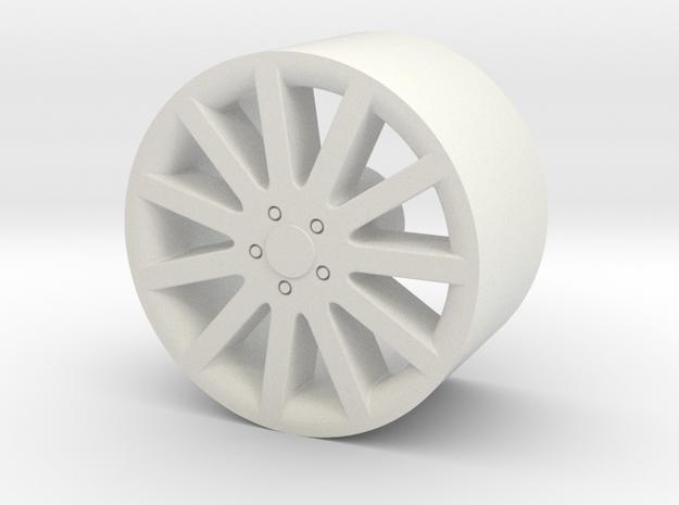 1/24 scale 11-spoke wheel for plastic model cars