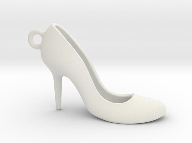 Court shoe 1611032250 in White Natural Versatile Plastic