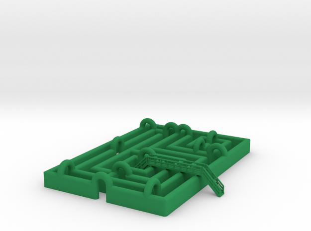 Irrgarten 2 - 1:220 or 1:160 in Green Processed Versatile Plastic: 1:220