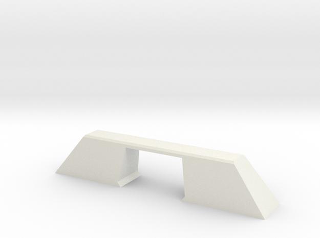 N Scale Bridge Modern Single Double 1:160 in White Natural Versatile Plastic