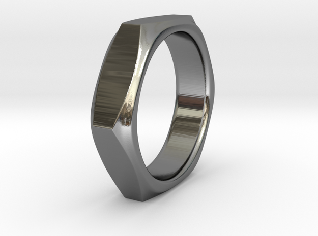 Barbara - Ring - US 9 - 19 mm inside diameter 3d printed Barbara - Ring - US 9 - 19 mm