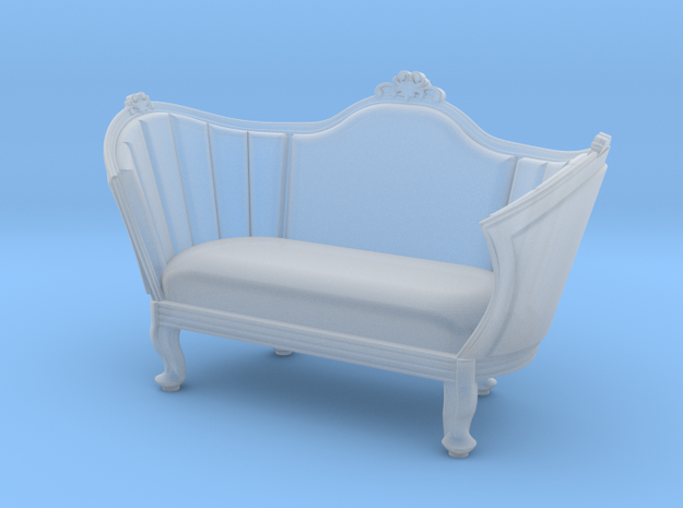 1:48 Victorian Sofa in Smooth Fine Detail Plastic