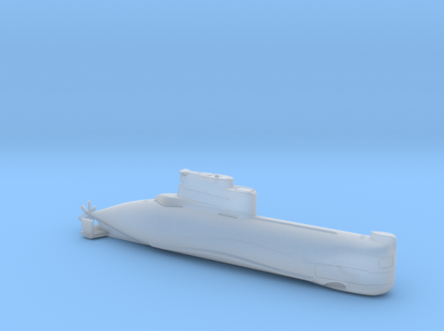 1/700 U-Boot Typ 202   German Submarine Type 202 in Frosted Extreme Detail