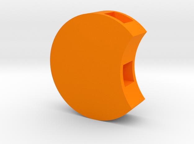 Circletop (orange) in Orange Processed Versatile Plastic