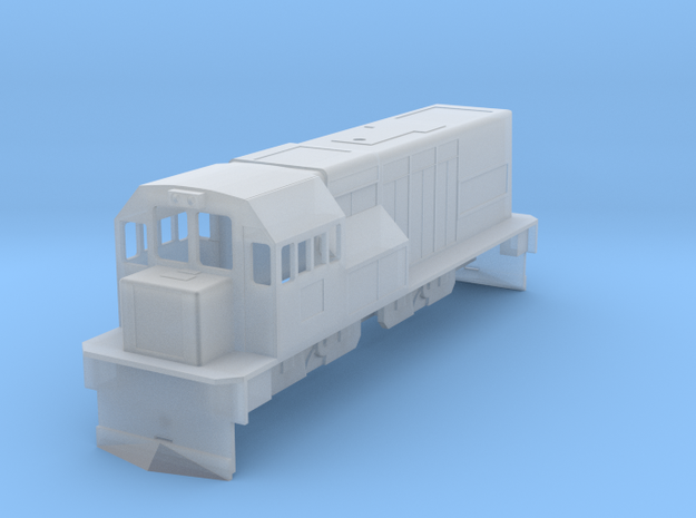 BM4-005 SAR Class 91 HO Scale in Smooth Fine Detail Plastic