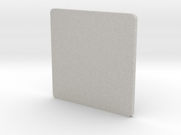 Coaster-posavasos in Full Color Sandstone