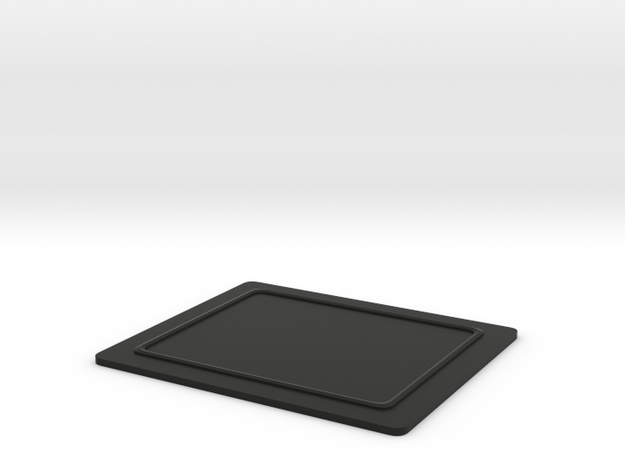 MatterPlate Covers the Matterport Camera Lights in Black Strong & Flexible
