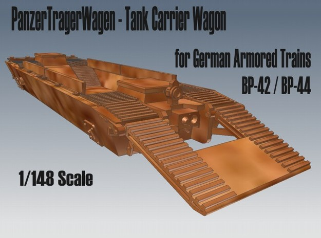1-148 Panzer-Tr-Wagen For BP-42 3d printed